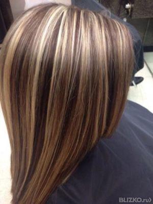 Цена мелирование на короткие волосы