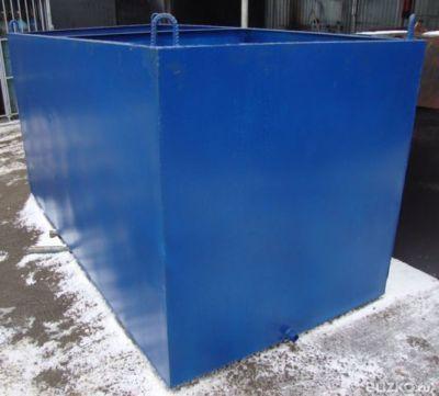 Бак металлический для воды