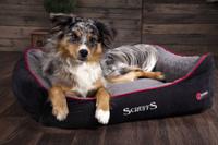 """Лежак для собак и кошек согревающий SCRUFFS """"Thermal"""", черный, 90х70см (Вел"""