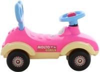 """Каталка-автомобиль для девочек Molto """"Сабрина"""" (в коробке) Полесье"""
